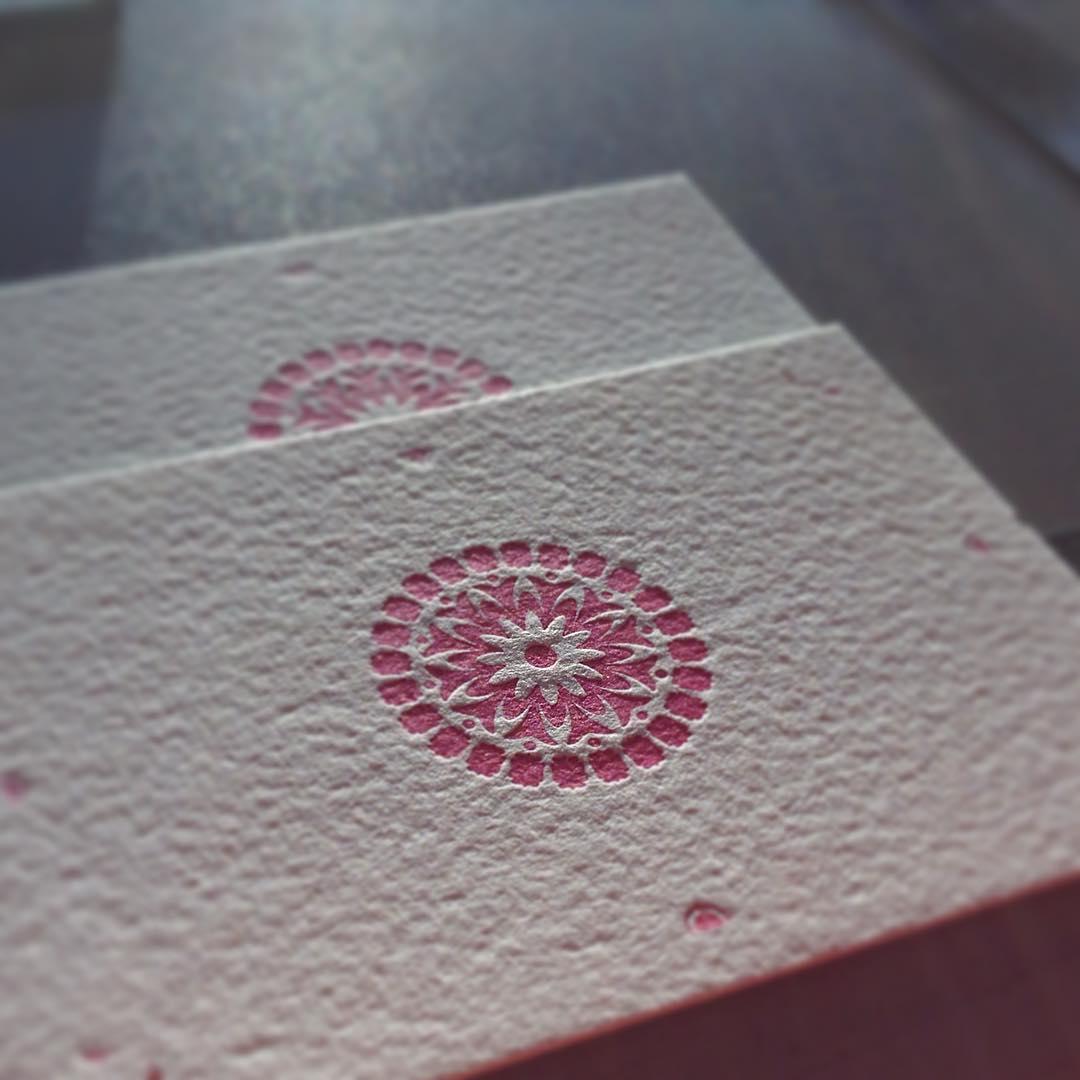 Afternoon Delight British paper German printing press Australian letterpress inhellip